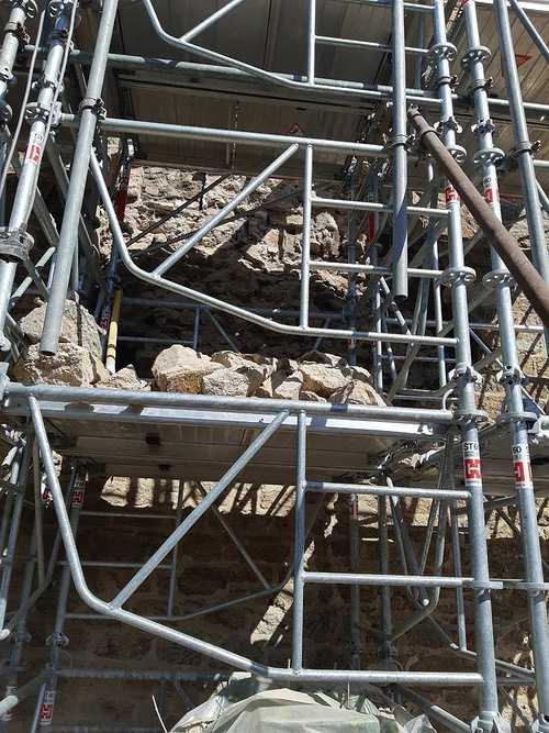 Reprise de maçonnerie suite effondrement d''un pignon pierre - Saint-Malo repisedemaconneriesuiteeffondrementdunpignonpierre