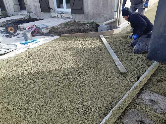Création terrasse en béton drainant à Rotheneuf 20190305105002