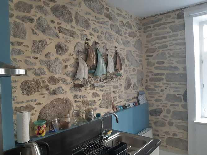 Joints pierre intérieurs Appartement intra muros St-Malo 0